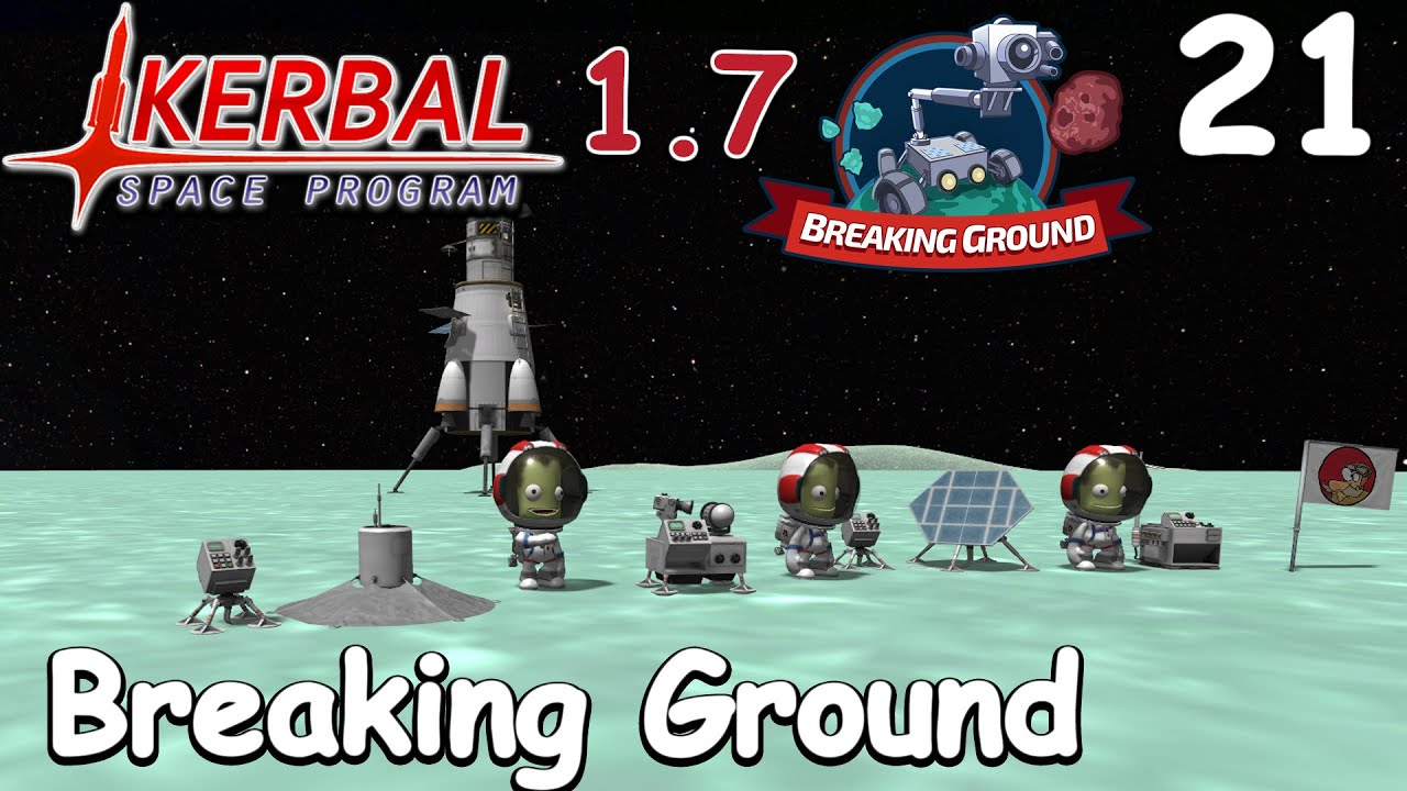 Breaking Ground On Minmus Ksp 1 7 Science Game Let S Play