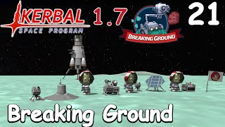 Breaking Ground on Minmus - KSP 1.7 - Science Game - Let's Play - 21
