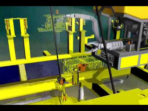 Constructing Totals Dalia Field Part 8 - Running of a Suction Anchor.wmv