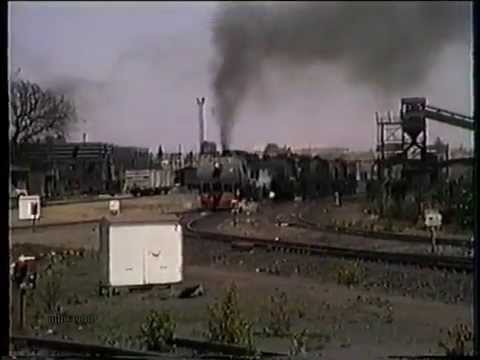 Freight trains at Bulawayo Railway Station 1990