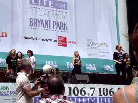 Broadway in Bryant Park - Heathers The Musical -
