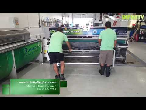 INFINITY RUG CARE | Professional Rug Cleaning Process South Florida