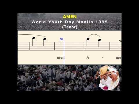 C04c Amen - World  Youth Day 1995 (Tenor)