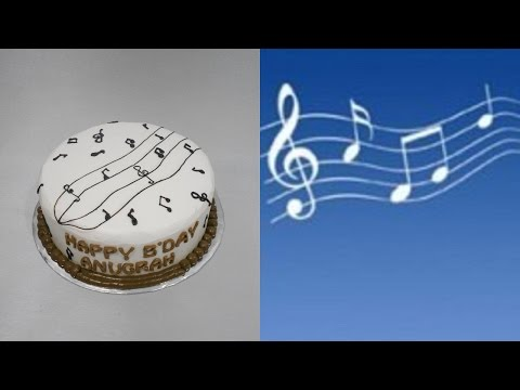 Tone Music Cake - Draw Very Easy!