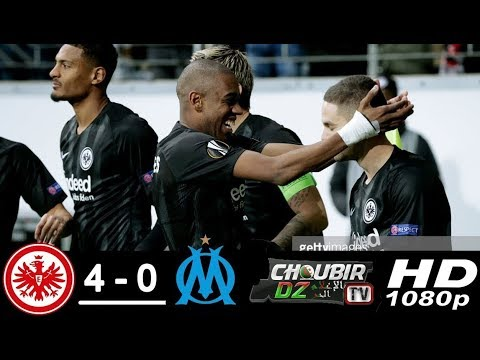 Eintracht Frankfurt vs Marseille 4 - 0 UEFA Europa League 29/11/2018