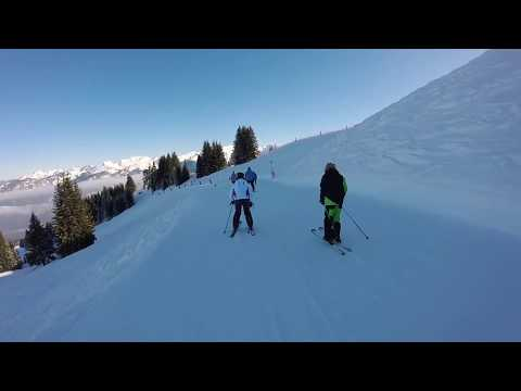 Skiing (Morillon To Tete Des Saix) Coulouvrier Lift Feb 2018