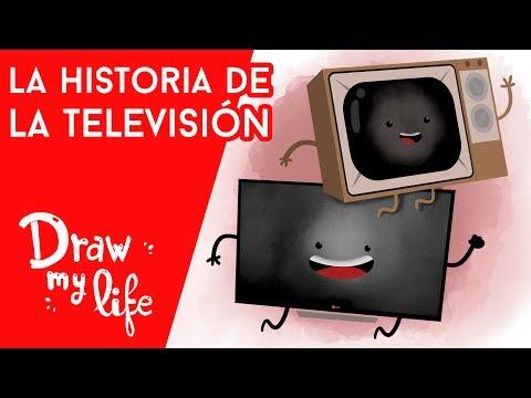 La HISTORIA de la TELEVISIÓN - Draw Club