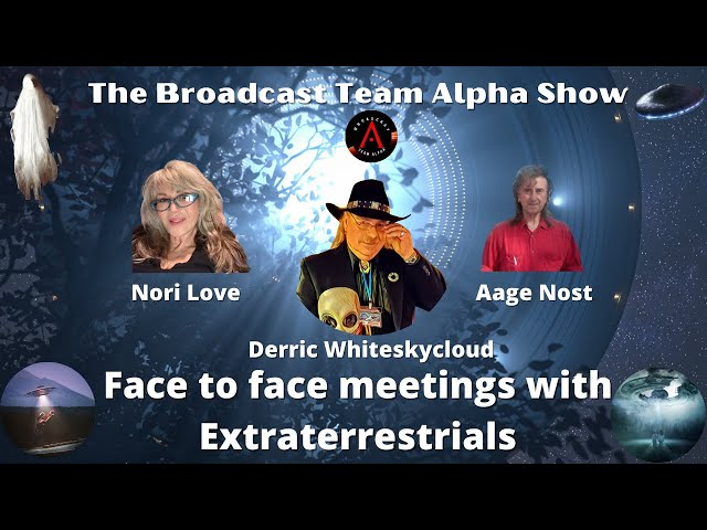 Face to face meetings with Extraterrestrials
