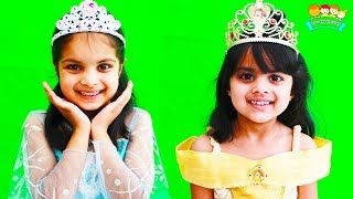 The Importance of Sleeping in Night Ashu and Cutie as Princesses - Toys And KidsPlay