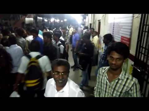 Train problem in Chennai city