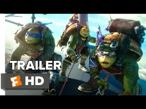 Teenage Mutant Ninja Turtles - Out of the Shadows Official International Trailer 1 (2016) - Movie HD