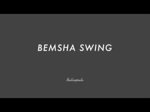 BEMSHA SWING chord progression- Backing Track Play AlongJazz Standard Bible 2 Guitar