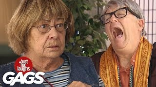 Best 2019 Just For Laughs Gags I FunnyTV NEW Pranks 2019