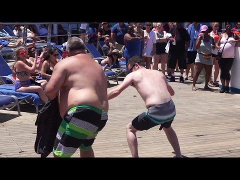 Carnival Victory Cruise Miami - Cozumel | Hairy Chest Competition | May 2017