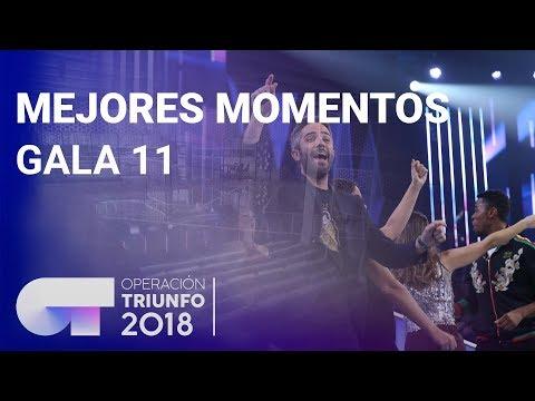 Mejores momentos de la Gala 11 | OT 2018