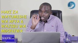 Haki za watumishi wa afya na wajibu wa wagonjwa