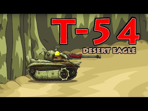 super-tank-rumble-creations---t-54-desert-eagle