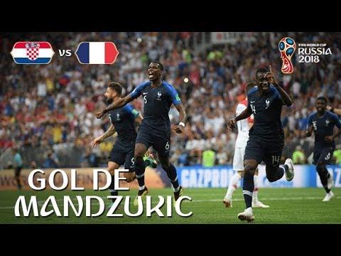 Francia vs Croacia 4-2 | Gol e francia contra croacia
