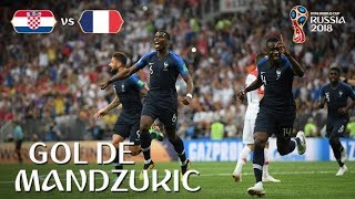 2018 FIFA World Cup CROATIA FRANCE