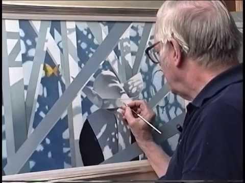 Robert Vickrey, Fine Artist