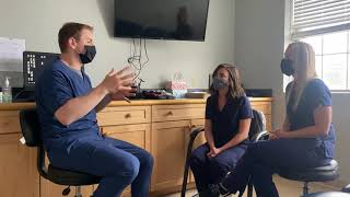 Discussing migraines - Chiropractic Neurology and Occupational Therapy