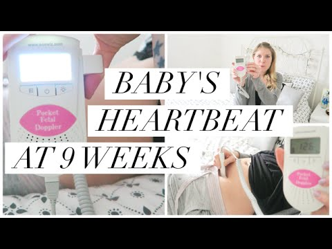 How To Find Your Baby S Heartbeat Early With A Fetal Doppler Youtube