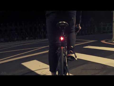 24H出貨【USB充電全智能腳踏車燈】重力感應自行車燈 64LED方向燈 公路車方向燈 安全智能感應燈 【AB027】