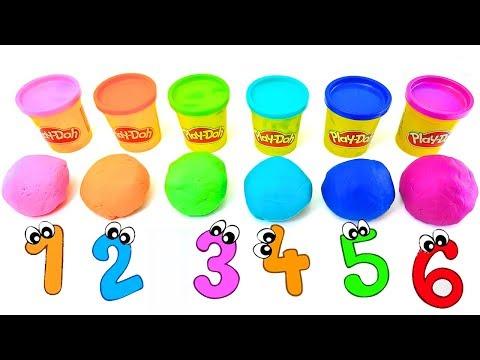 Сюрпризы. Игрушки из мультиков СВИНКА ПЕППА, ЧЕБУРАШКА, СМУРФИКИ, ТРОЛЛИ. Учим цифры и цвета детям