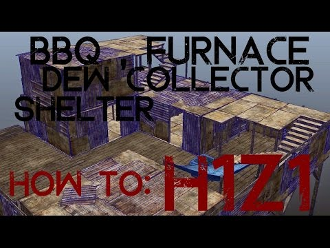 h1z1 updated guide how to make bbq furnace dew collector large