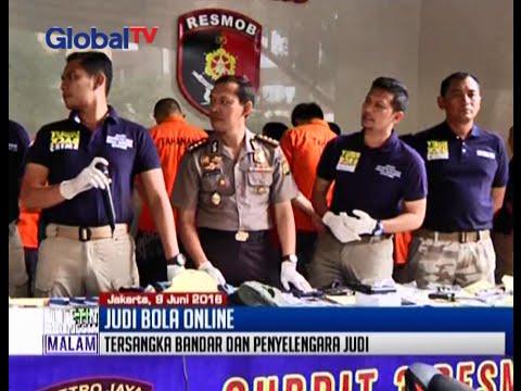 Jelang Piala Eropa, Polda Metro Jaya tangkap bandar judi bola online - BIM 10/06 - 동영상