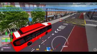 Roblox Brentwood Bus Simulator V2 Enviro 200 MMC EV BYD D9UR Driving Around