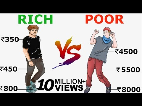 गरीब VS अमीर| 5 MAIN DIFFERENCE BETWEEN RICH AND POOR | THIS WILL CHANGE YOUR LIFE COMPLETELY