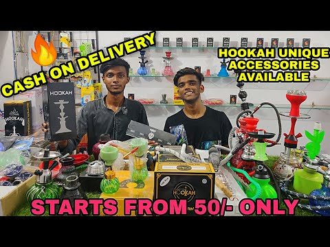 HOOKAH & it's ALL ACCESSORIES is CASH ON DELIVERY at CHEAPEST RATES | HOOKAH Shop in Delhi