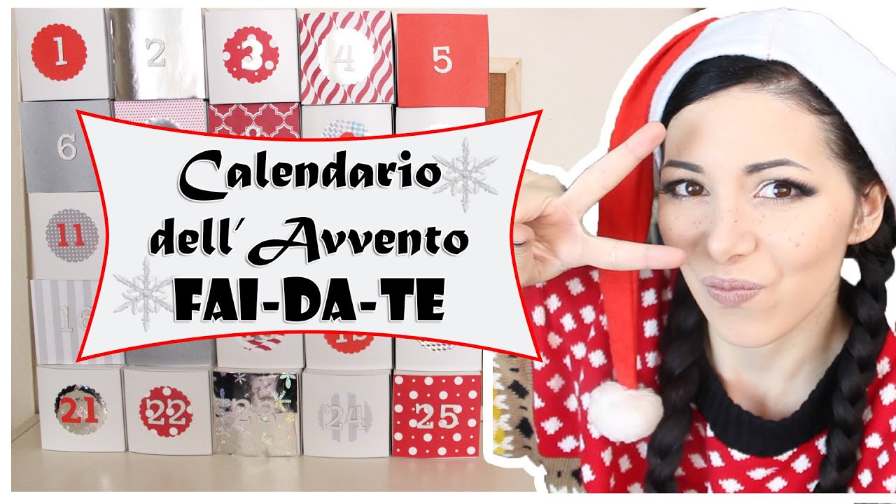 Calendario dell 39 avvento fai da te youtube for Panchine fai da te