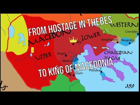 Philip II - 03 | From Hostage in Thebes to King of Macedonia