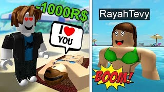 BUY POOL FOR GIRLFRIEND IN ROBLOX!