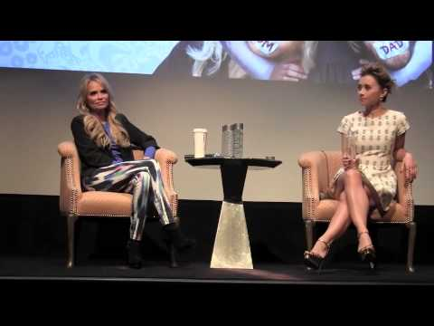 : Family Weekend Press Conference with Kristin Chenoweth and Olesya Rulin