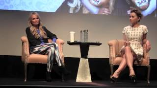 Interview: Family Weekend Press Conference with Kristin Chenoweth and Olesya Rulin