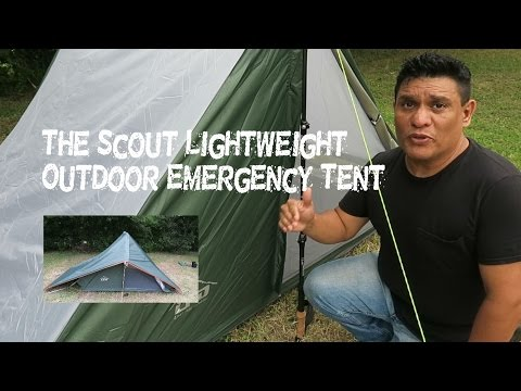 The Scout Lightweight Outdoor Emergency Tent By LFO