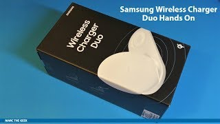 Samsung Wireless Charger Duo Hands On