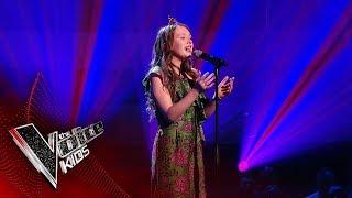 Gracie-Jayne Performs 'Golden Slumbers' | Blind Auditions | The Voice Kids UK 2019