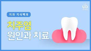잇몸에서 고름이? 치주염의 원인과 치료방법 | #유디치…
