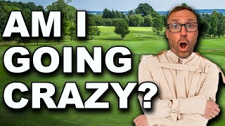no golf is driving me INSANE