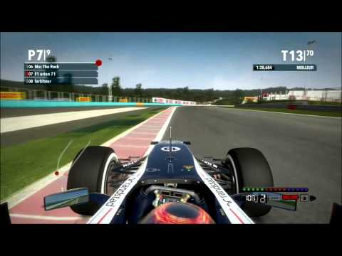 MSC Championnat | épreuve n°2 Budapest | F1 2012
