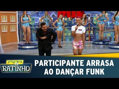 Participante Arrasa Ao Dançar Funk | Programa Do Ratinho (17/07/17)