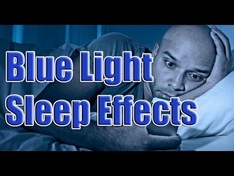Can't Sleep? | Blue Light Sleep Effects