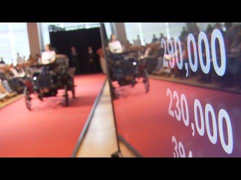 Bonhams auctions classic vehicles at Mercedes-Benz Museum - Mercedes-Benz original