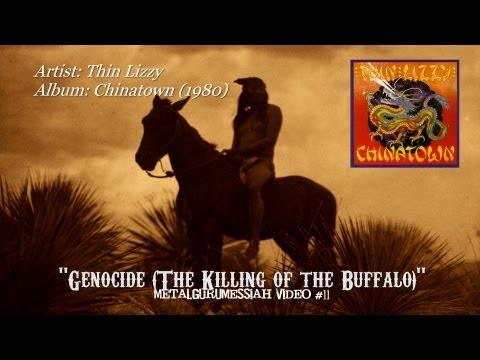 Thin Lizzy - Genocide (The Killing of the Buffalo) (1980) HQ Audio HD Video ~MetalGuruMessiah~
