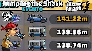 RALLY NO EVENTO JUMPING THE SHARK   Hill Climb Racing 2