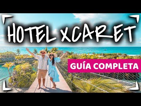 HOTEL XCARET MEXICO 🔴 Guia completa ✅ PARQUES INCLUIDOS ► CANCUN TODO INCLUIDO 🍔ALL FUN INCLUSIVE